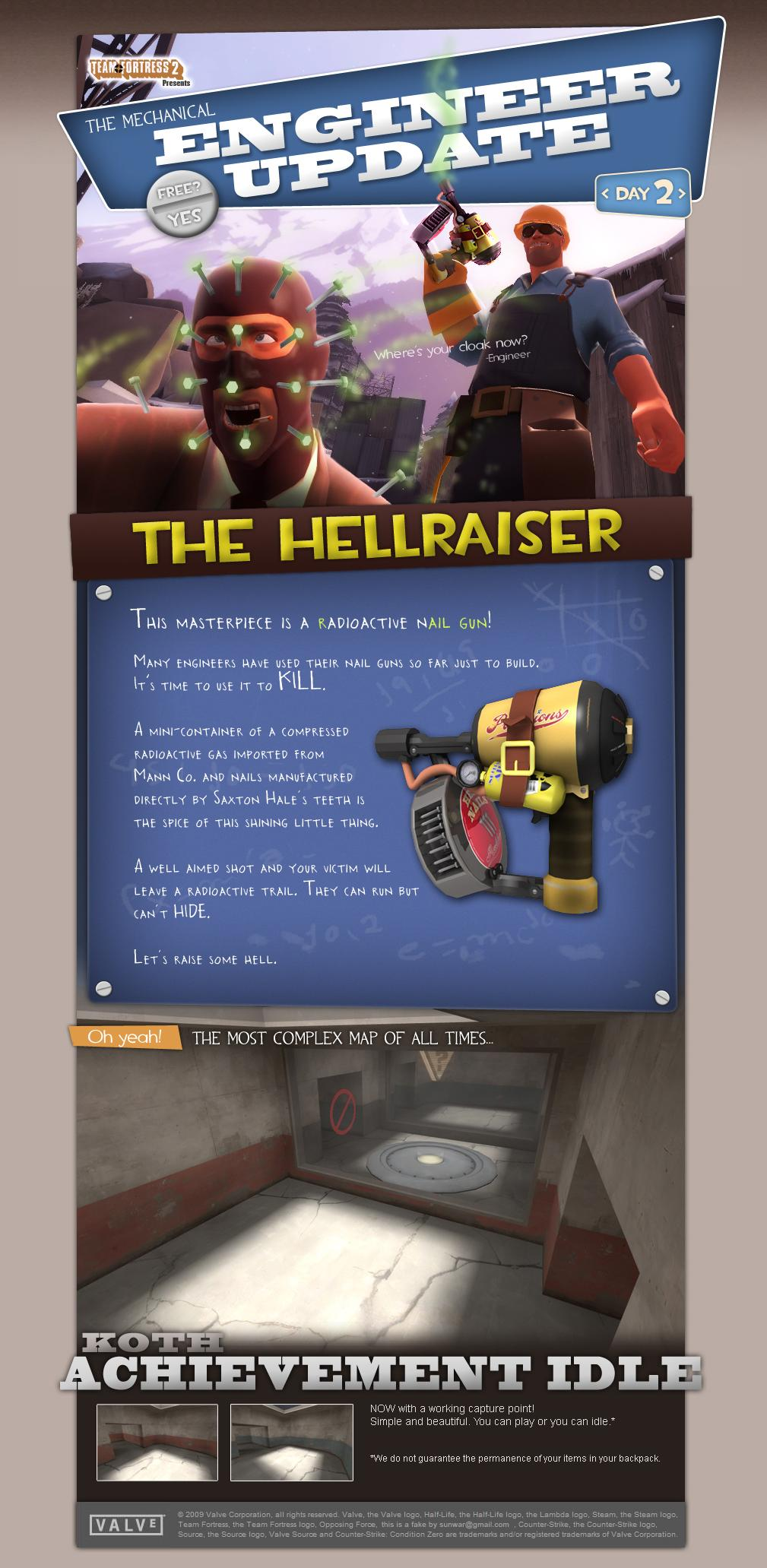 TF2 Engineer update!! (  heh) | Secret Option F!